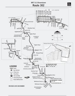 Calgary Transit Route 302
